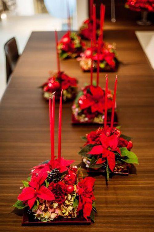 La poinsettia com nmente la flor de pascua o de navidad - Decoracion fiesta navidena ...