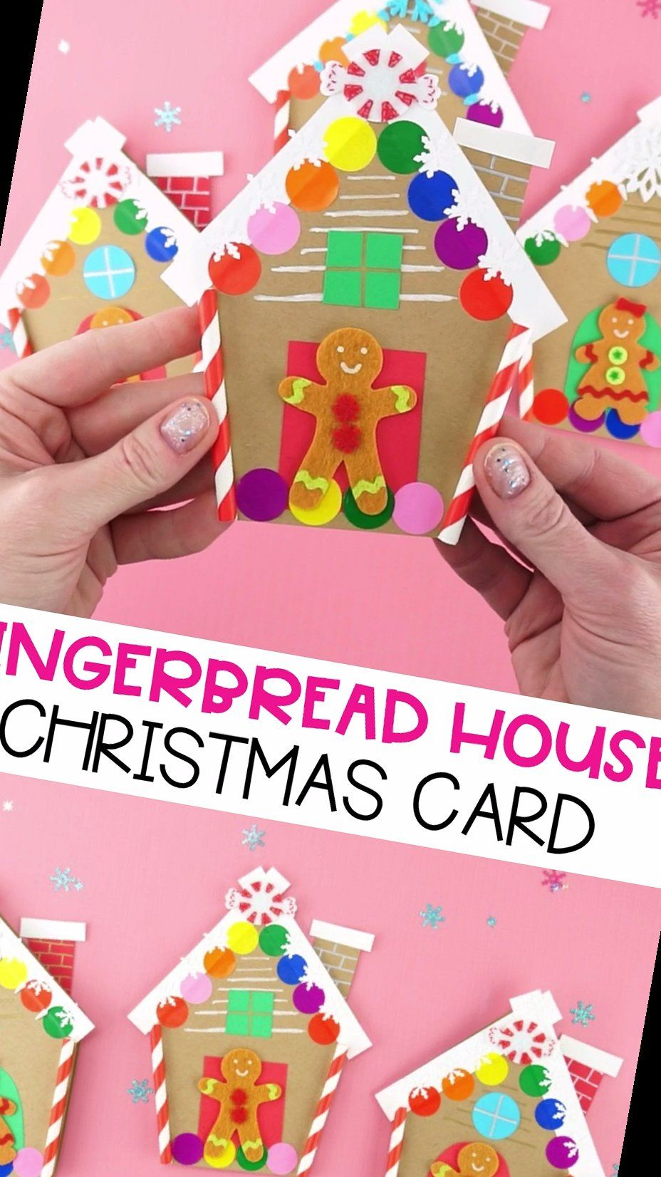 30+ How To Make A Gingerbread House Card For Chris