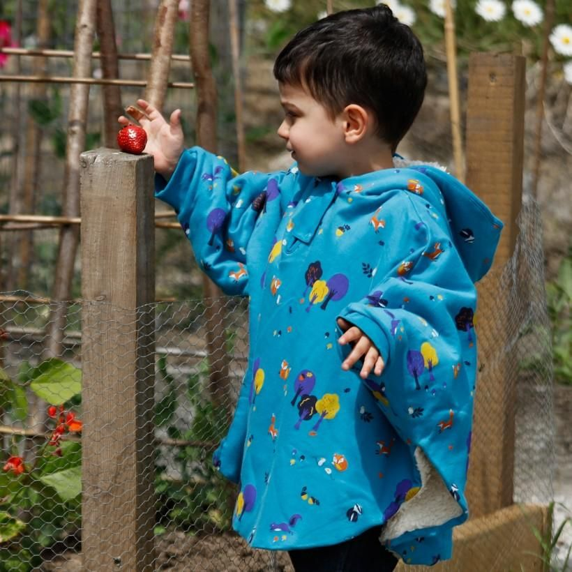 709dbbb7eea3 Woodland Poncho – Modern Rascals. From Piccalilly a UK children s ...