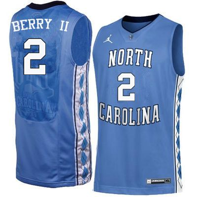 e03195a9904 Men North Carolina Tar Heels #2 Joel Berry II College Basketball Jerseys  Sale-Blue