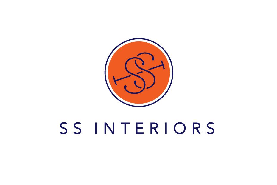 Logo Design For Ss Interiors By Orange County Design Firm Hoodzpah Branding Brilliance
