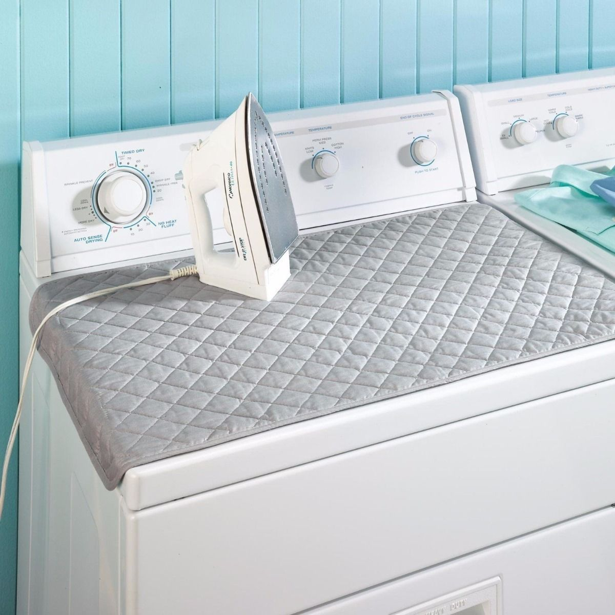board cover resistant foldable heat ironing itm blanket mat mats dryer laundry washer and description bt