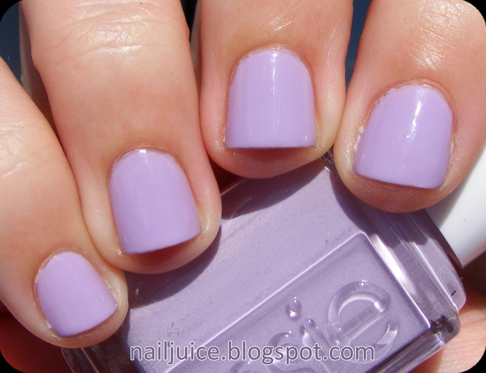 Essie Nice Is Nice Fave Purple Polish Light Purple With