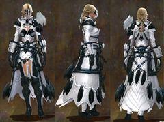 Gw2 Bladed Medium Armor Guild Wars 2 Art Craft Cosplay