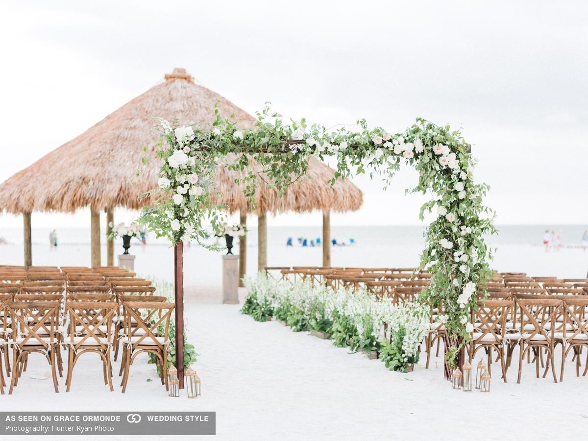 A Romantic Beach Wedding At Jw Marriott Marco Island In Marco Island Fl Marco Island Wedding Marco Island Beach Waterfront Wedding Venue