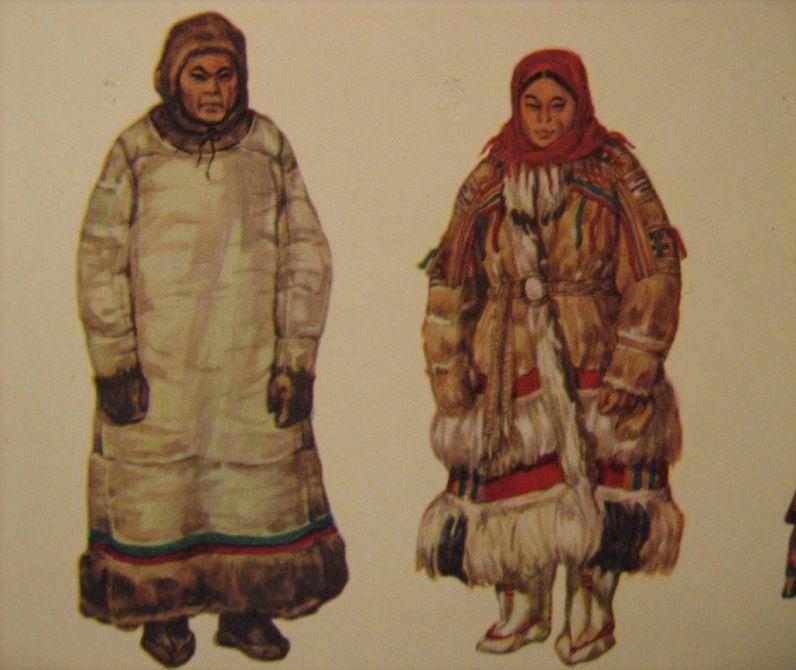 картинки костюмы саамов одиночестве утки