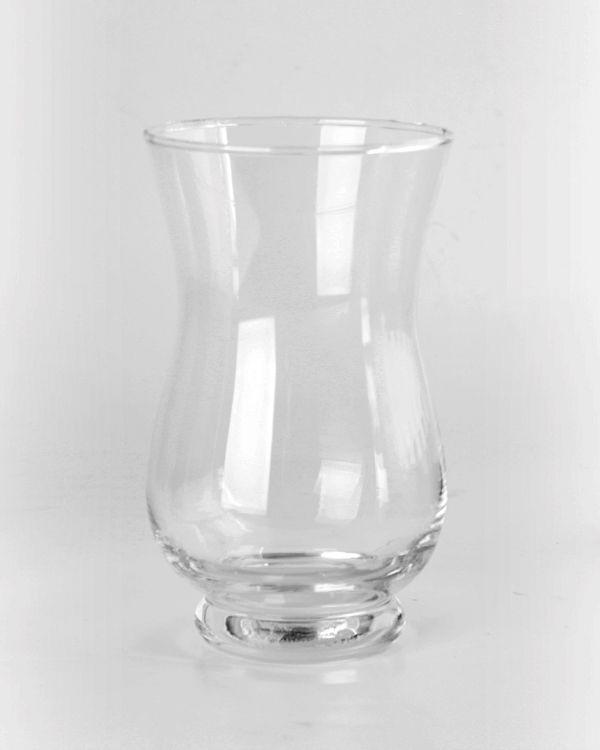 Hurricane Vases 75 Clear Glass Hurricane Vase Allisyns Sweet