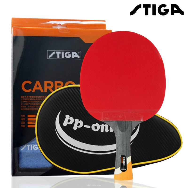 Genuine Stiga Professional Carbon 6 Stars Table Tennis Racket For Offensive Rackets Sport Racket Ping Pong R Table Tennis Table Tennis Bats Table Tennis Racket