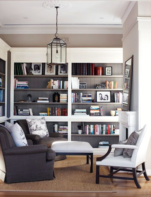29 Builtin Bookshelves Ideas For Your Home  Digsdigs  Home Enchanting Shelves In Living Room Design Review
