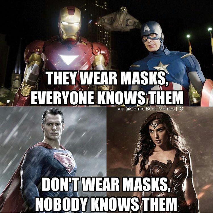 D C Marvel Logic This Has Always Frustrated Me Funny Marvel