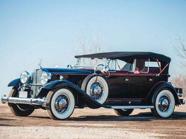 1932 Packard Deluxe Eight Phaeton Packard Motor Car Company