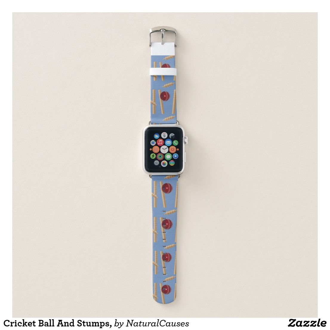 cricket Ball And Stumps, apple watchbands Watch bands