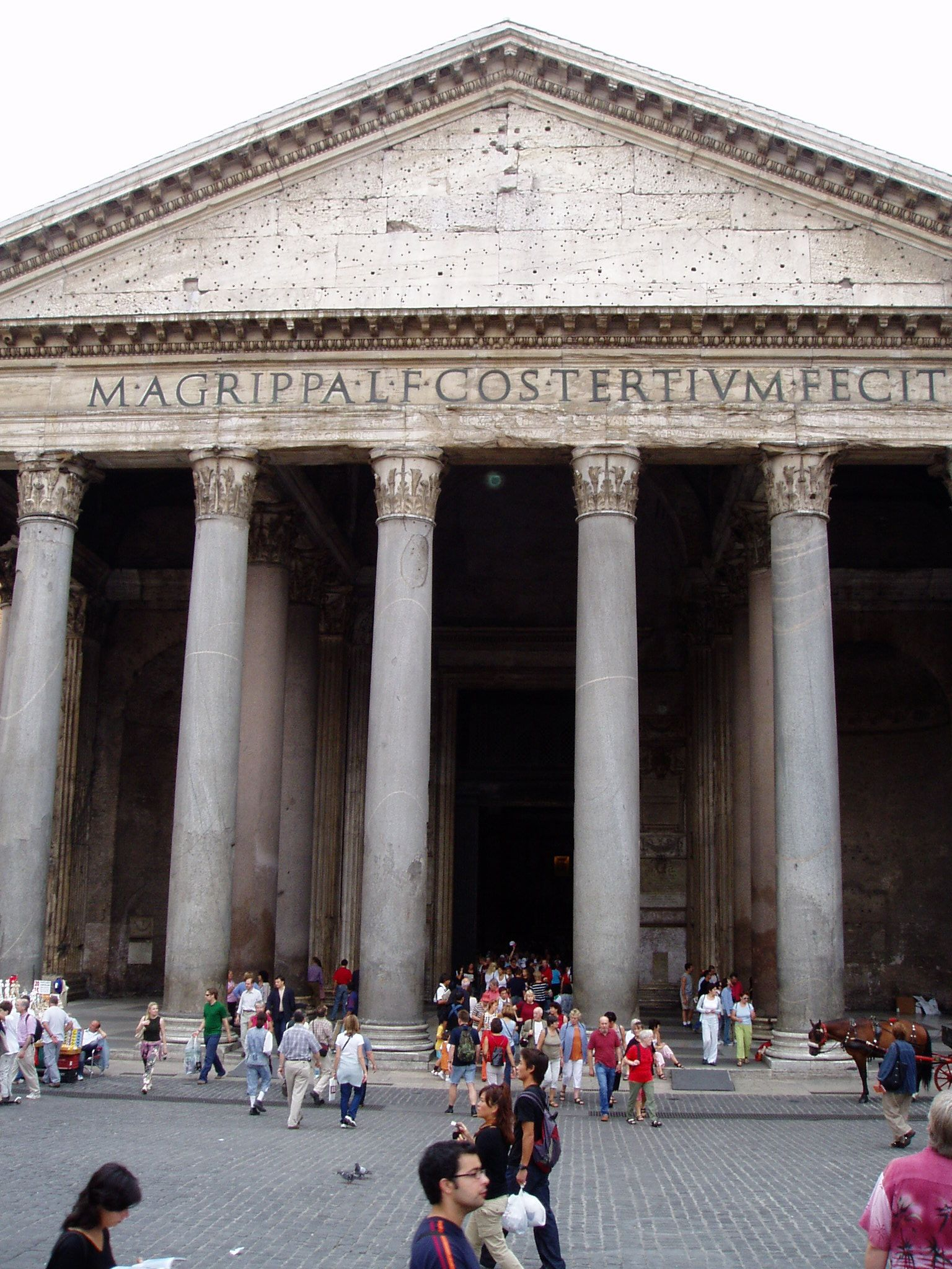 2000 Years Old, Still In Use, Rome, Italy