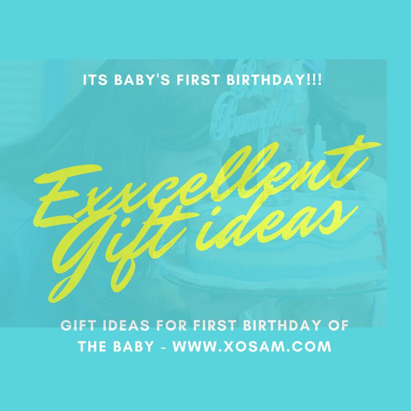 Baby First Birthday Gift Ideas XO Sam