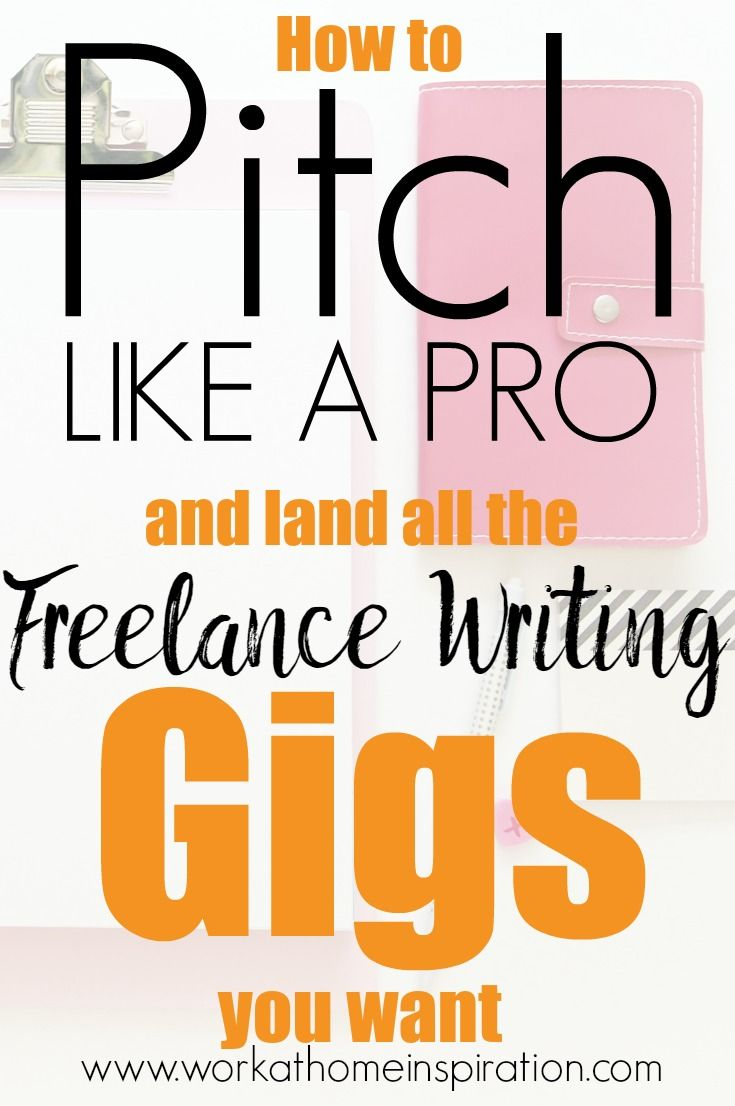 Freelance Writing Jobs  How To Write A Pitch Letter That Will