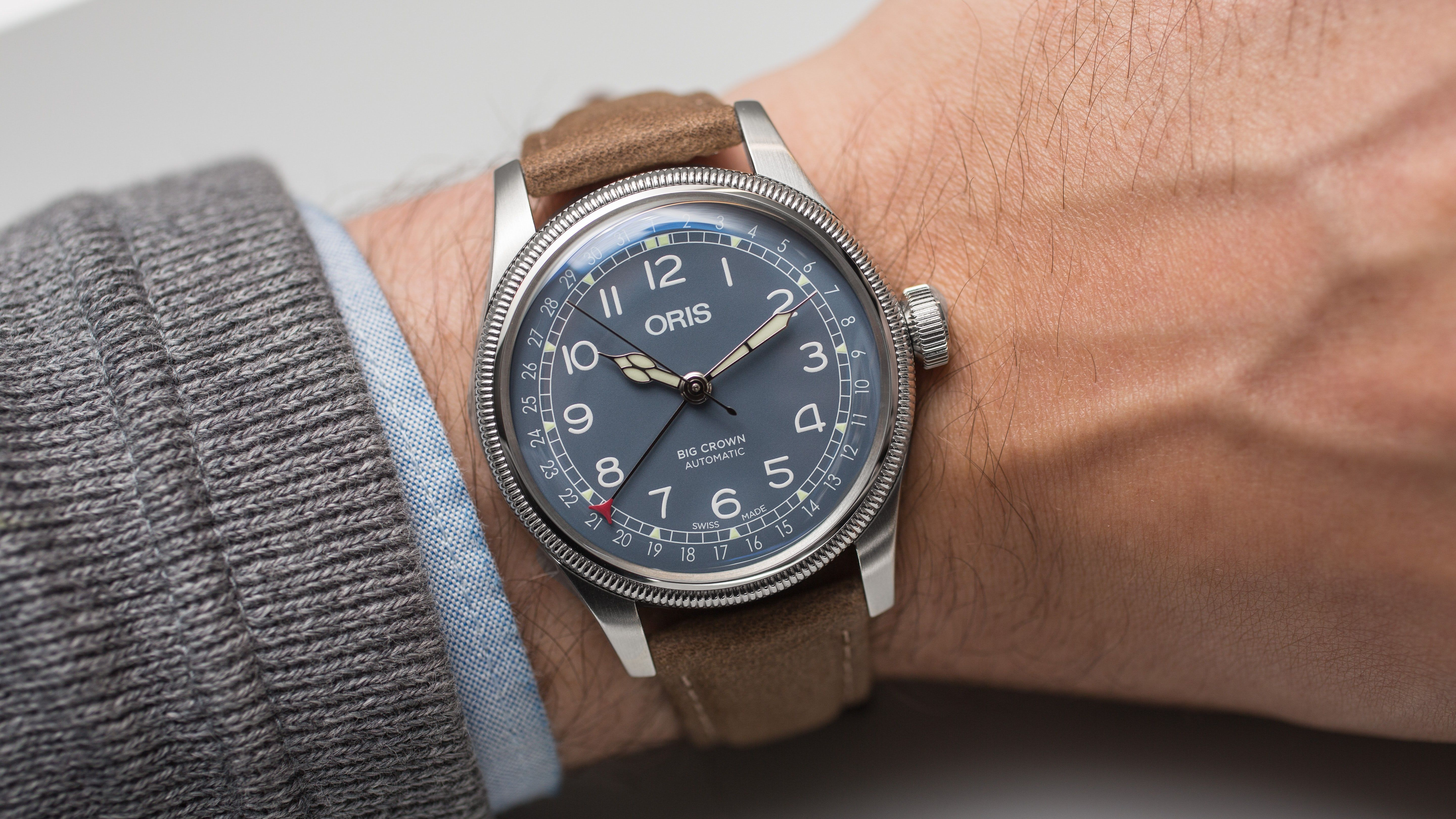 ab564ee5f58 Hands-On  The Oris Big Crown Pointer Date Collection in 2019 ...