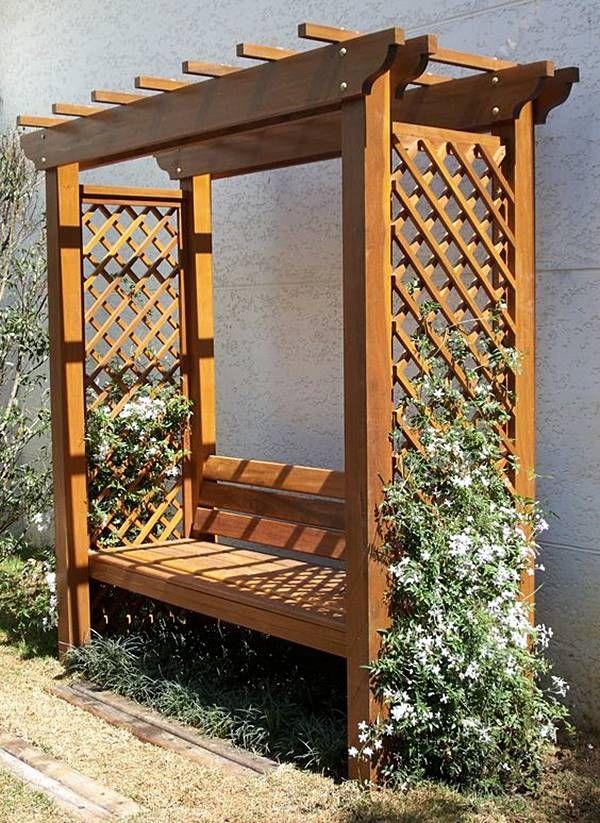 Muito Dá para ter um pergolado em jardim pequeno? | Gardens, Pergolas  VY79