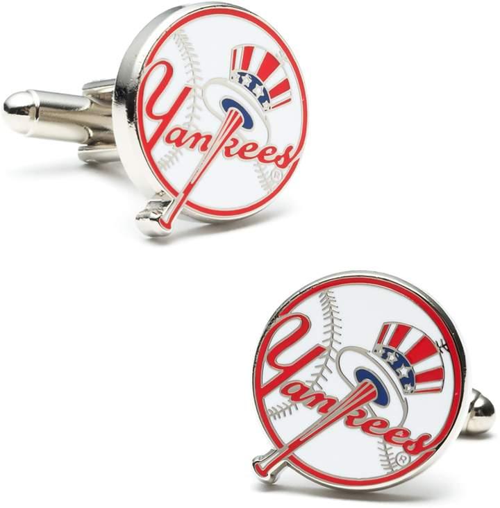 Yankees Tie Clip /& CuffLinks Set New York Yankees Baseball Cuff Links NEW