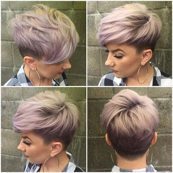 Pixie Cut Frisuren Haircut Pinterest Haircuts Hair Style And