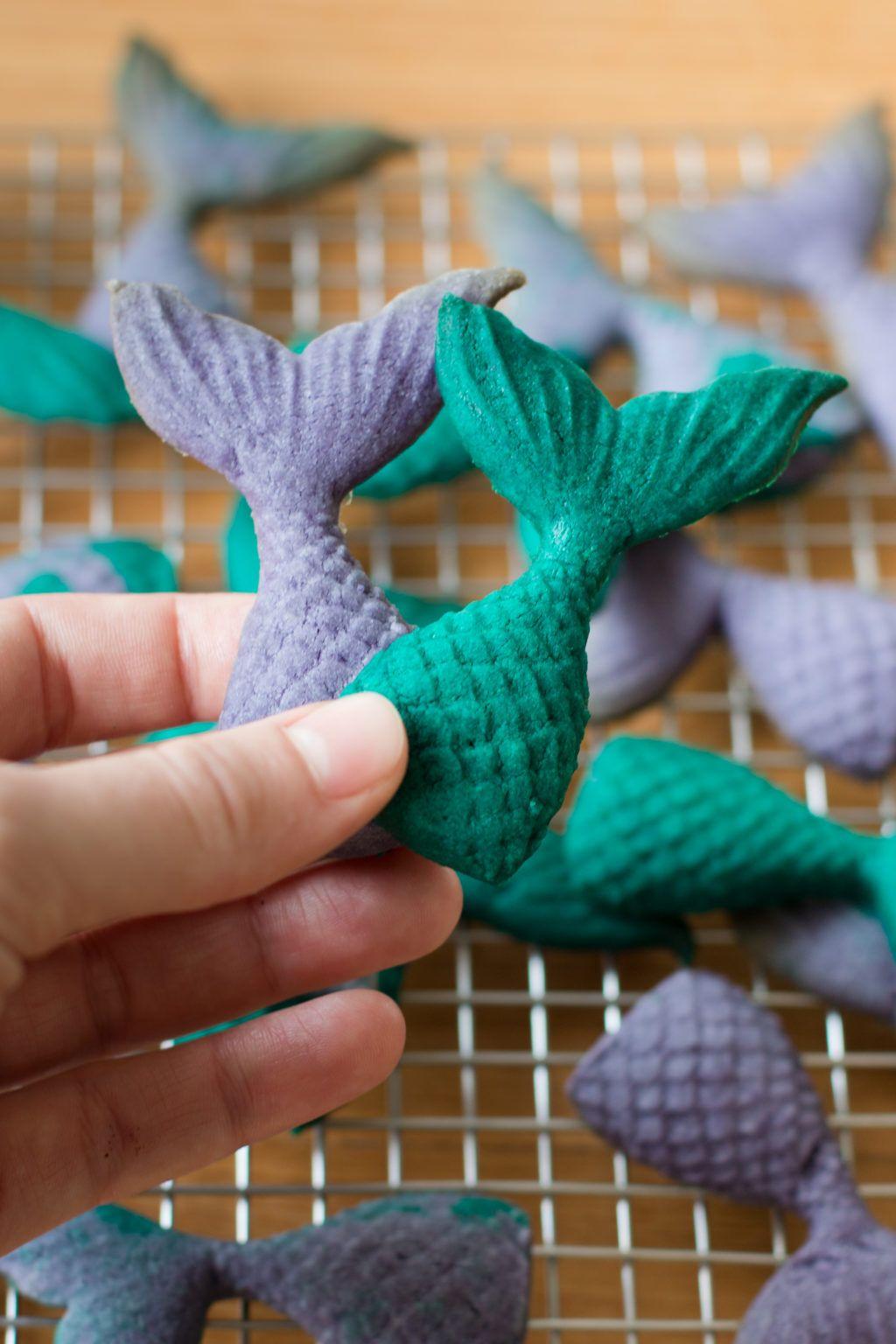Photo of Rezept für schnelle 3D Meerjungfrauen Kekse | Madame Dessert