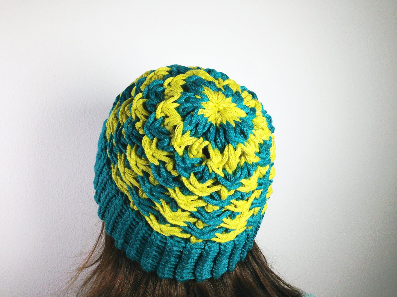 How to Loom Knit a Star Stitch Hat (DIY Tutorial) | loom | Pinterest ...