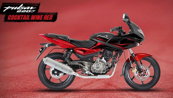 New Bajaj Pulsar 220f Cocktail Wine Red Pulsar Wine Red Red