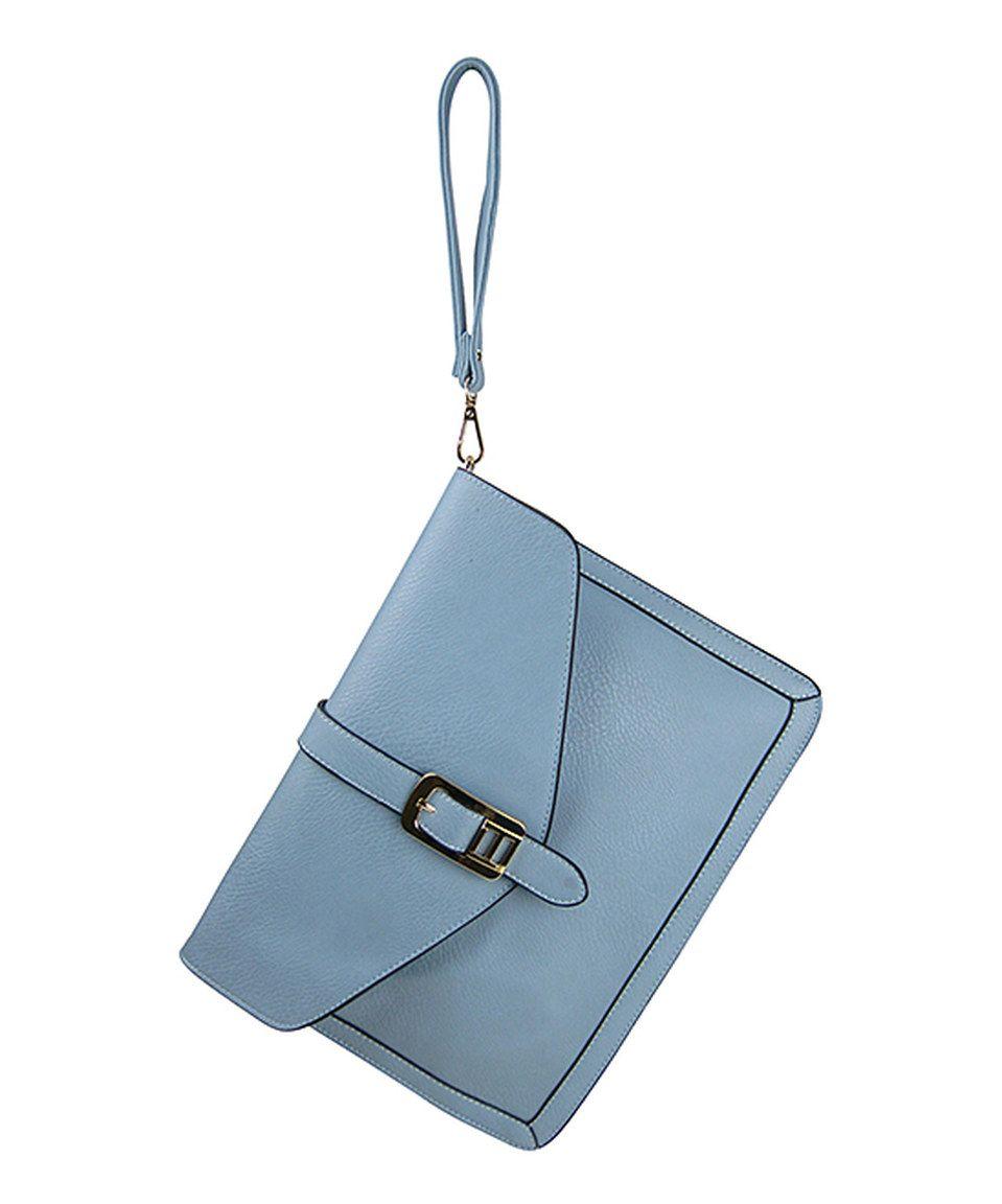 This AR New York Blue Buckle Crossbody Bag by AR New York is perfect! #zulilyfinds