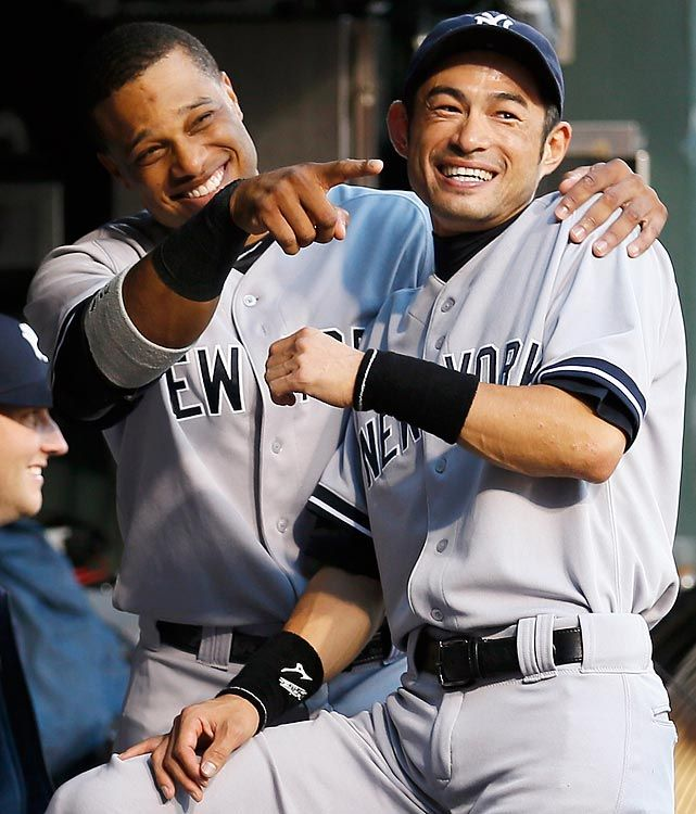 New York Yankees I really enjoyed watching these two play together.