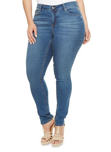 e680d2bba17 Plus Size WAX Jeans Skinny Jeans
