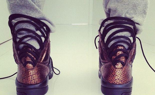 teyana taylor addidas sneaker