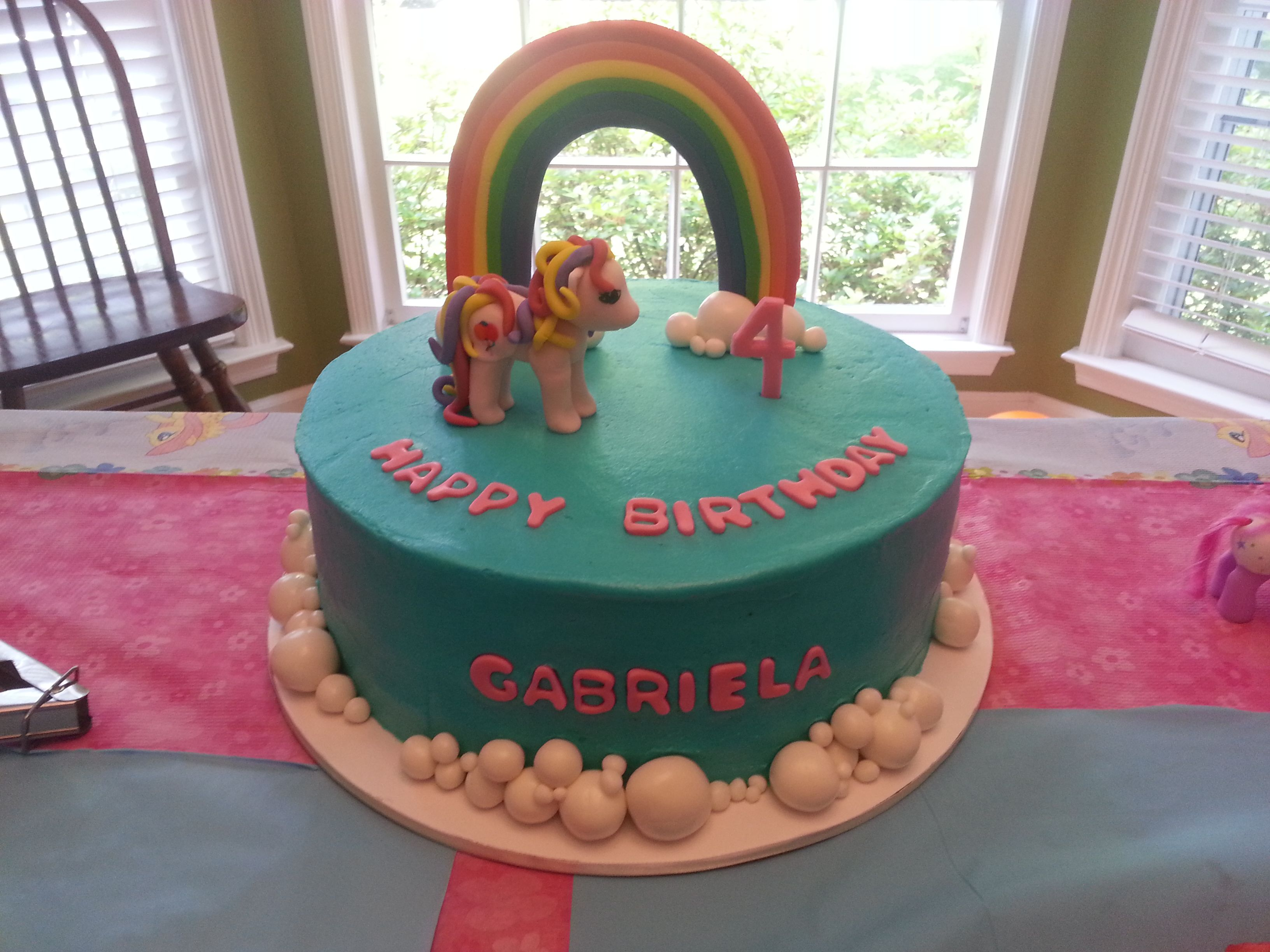My Little Pony Cake | Pony cake, Cake decorating