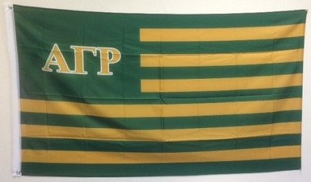 Alpha Gamma Rho AGR Fraternity USA Letter Flag 3/' x 5/' AGR