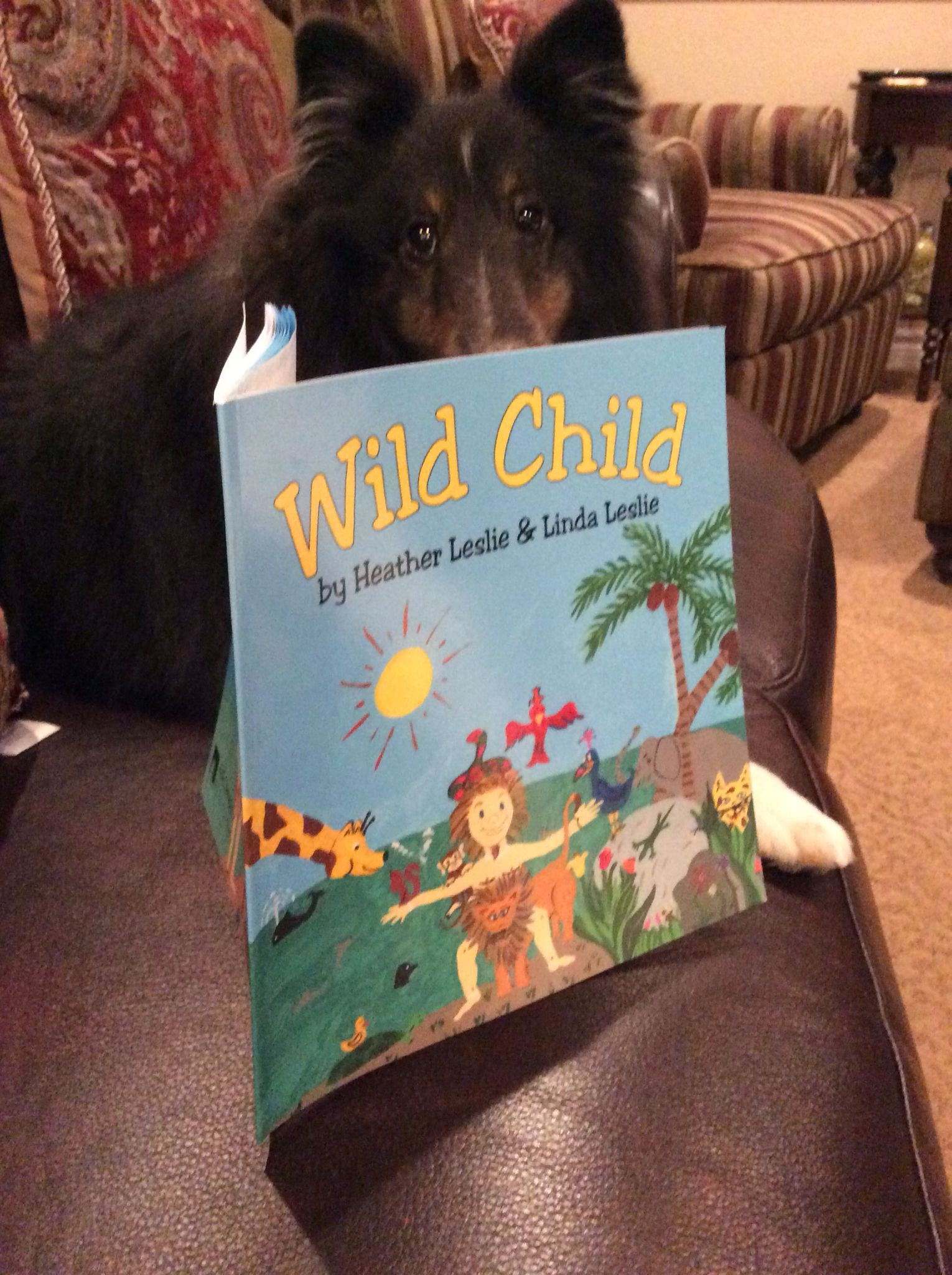 Someone's got his nose in a book #wildchildstorybook
