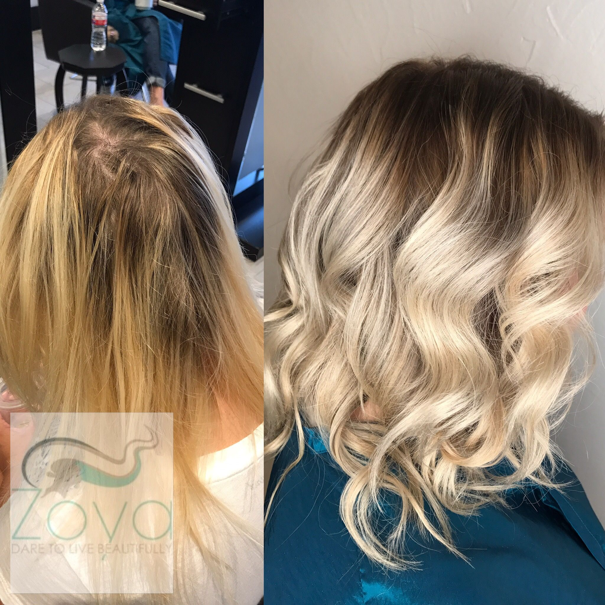 Beautiful Blonde Color Done At Zoya Salon In Addison Texas 972 930 9953 Blonde Zoyasalon Dallas Balayage Ombre Blonde Color Blonde Roots Beliage Hair
