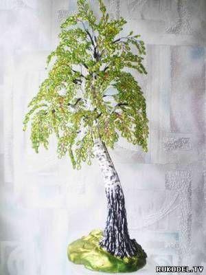 Декоративное дерево в современном декоре - 52 фото примера