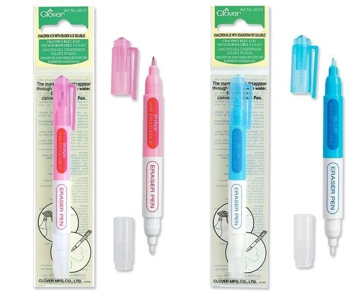 Clover Fabric Pencils Marker Quilting Applique Sew Erasable SELECT YOUR DESIGN!