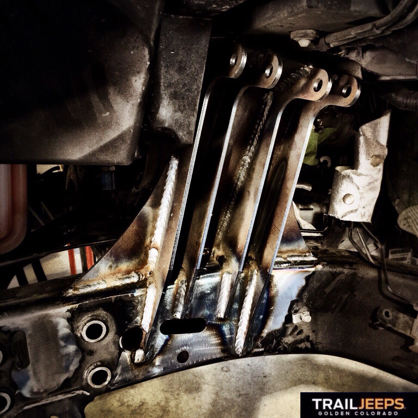 Evo'd factory axle.   Build your Jeep with us. From simple installations to Hemi Conversions. We also sell parts. Call us at 303.495.7595. Competitive pricing.  Or visit us online at www.trailjeeps.com  #trailjeeps #offroad #fourwheeling #4x4 #jkwrangler #rockcrawling #jeep #itsajeepthing #myjeepbuild #builtjeeps