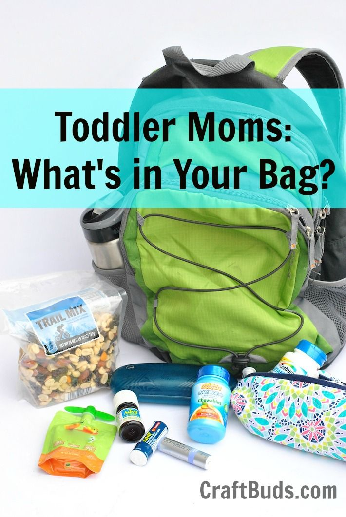 Toddler Moms, What's In Your Bag Backpack Essentials   Zipper Pouch Tutorial