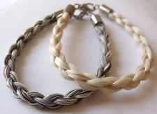 Make Your Own Horsehair Bracelet Kit 2 Sets Hardware Ebook Use Horse Hair Crafts Project