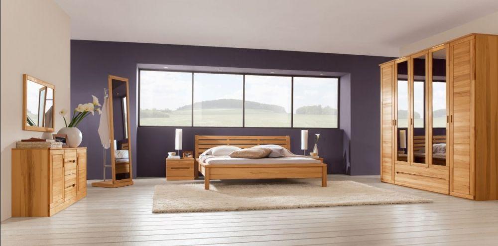 CARO Schlafzimmer Kernbuche geölt\/gewachst #bedroom #massivholz - schlafzimmer komplett massiv