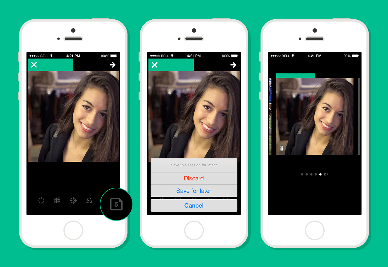 The 6sec looping video service, Vine has rolled out an