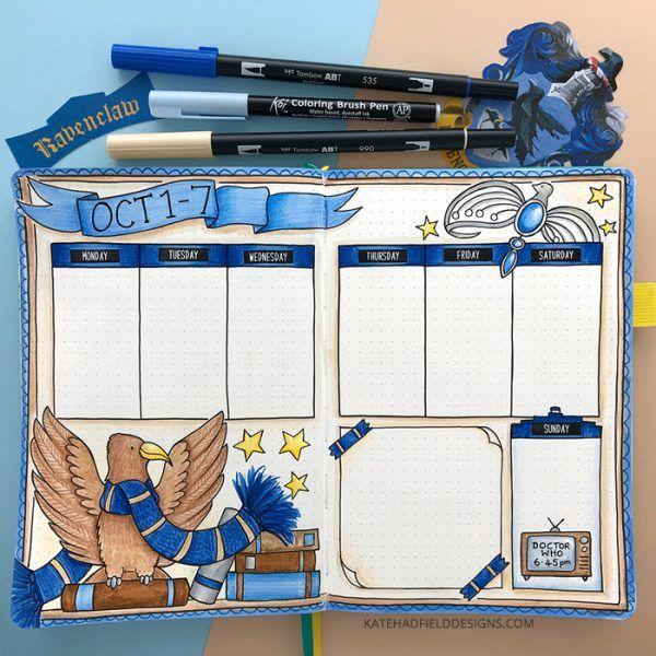 Memory keeping in my bullet journal - Kate Hadfield Designs