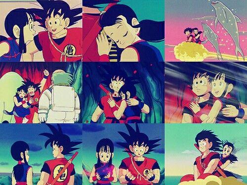 Gochi ♡ Goku And Chichi Pinterest Goku And Anime