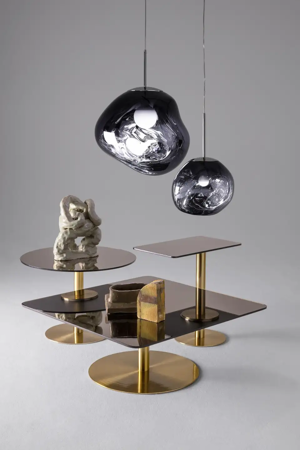 Flash Square Table By Tom Dixon In 2020 Floor Lamp Design Wall Lamp Design Square Tables