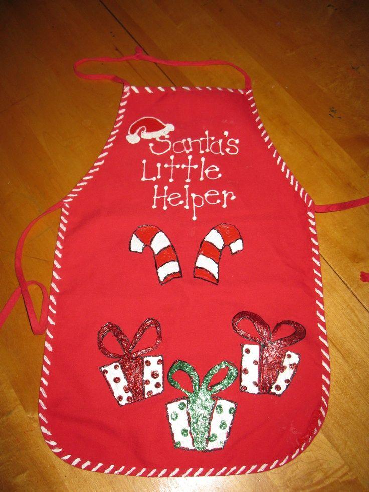 Christmas Aprons Christmas Sewing Christmas Embroidery Ugly Christmas Sweater Kids Christmas