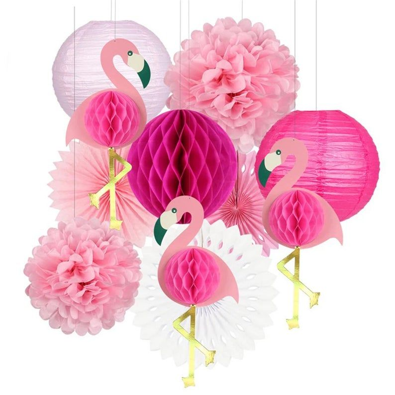 Flamingo Party Flamingo Party Fournitures Flamingo Honeycomb Pink Flamingo Party Flamingo Party Supplies Flamingo Themed Party