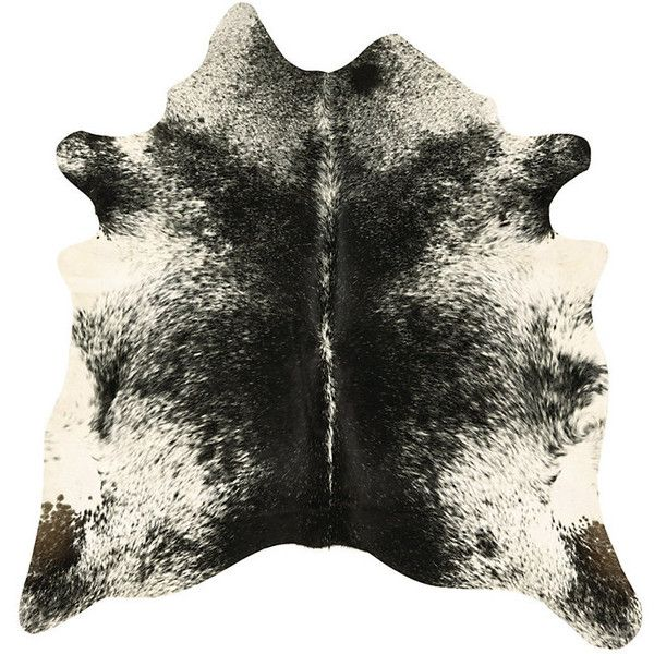 Ballard Designs Natural Cowhide Rug - Salt and Pepper ($699) ❤ liked on Polyvore featuring home, rugs, cow skin rug, cowhide rug, ballard designs, pattern rug and cow hide rug