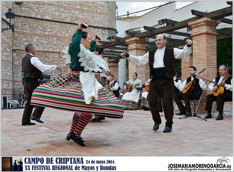 Campo de Criptana -  XX Festival Regional de Mayos y Rondas 2014
