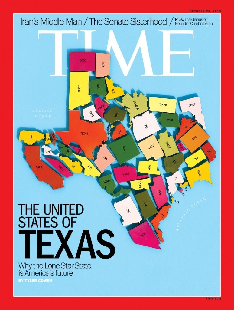 How could I The whole US is now Texasshapedeven