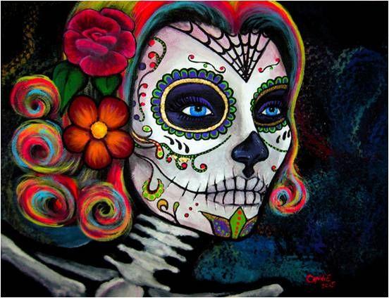Mexican Sugar Skull Rose Candy Rug At Society6 Sugar